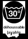 Déhoussable / Lavable